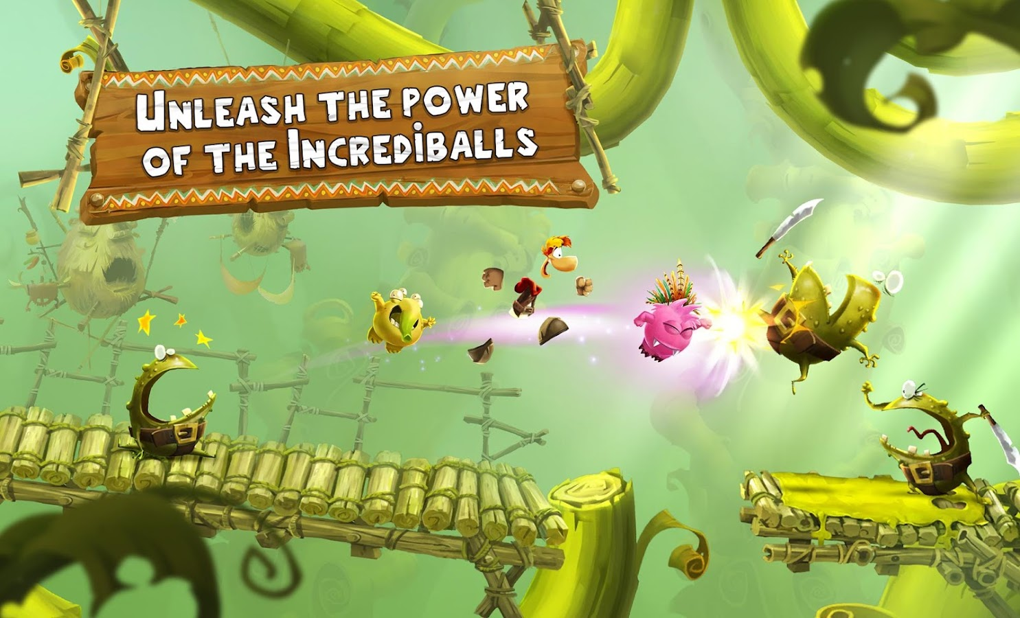 Rayman Adventures- screenshot