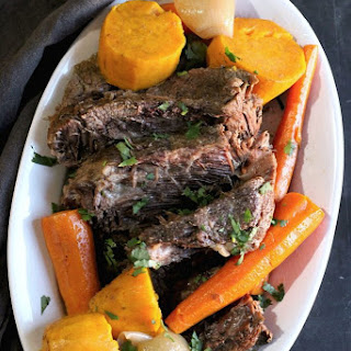Melt-in-Your-Mouth Slow Cooker Pot Roast Recipe