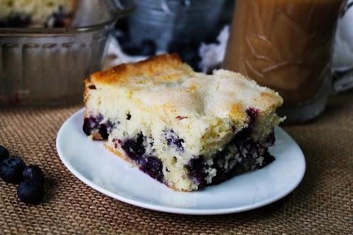 Blue Ribbon Blueberry Coffee Cake