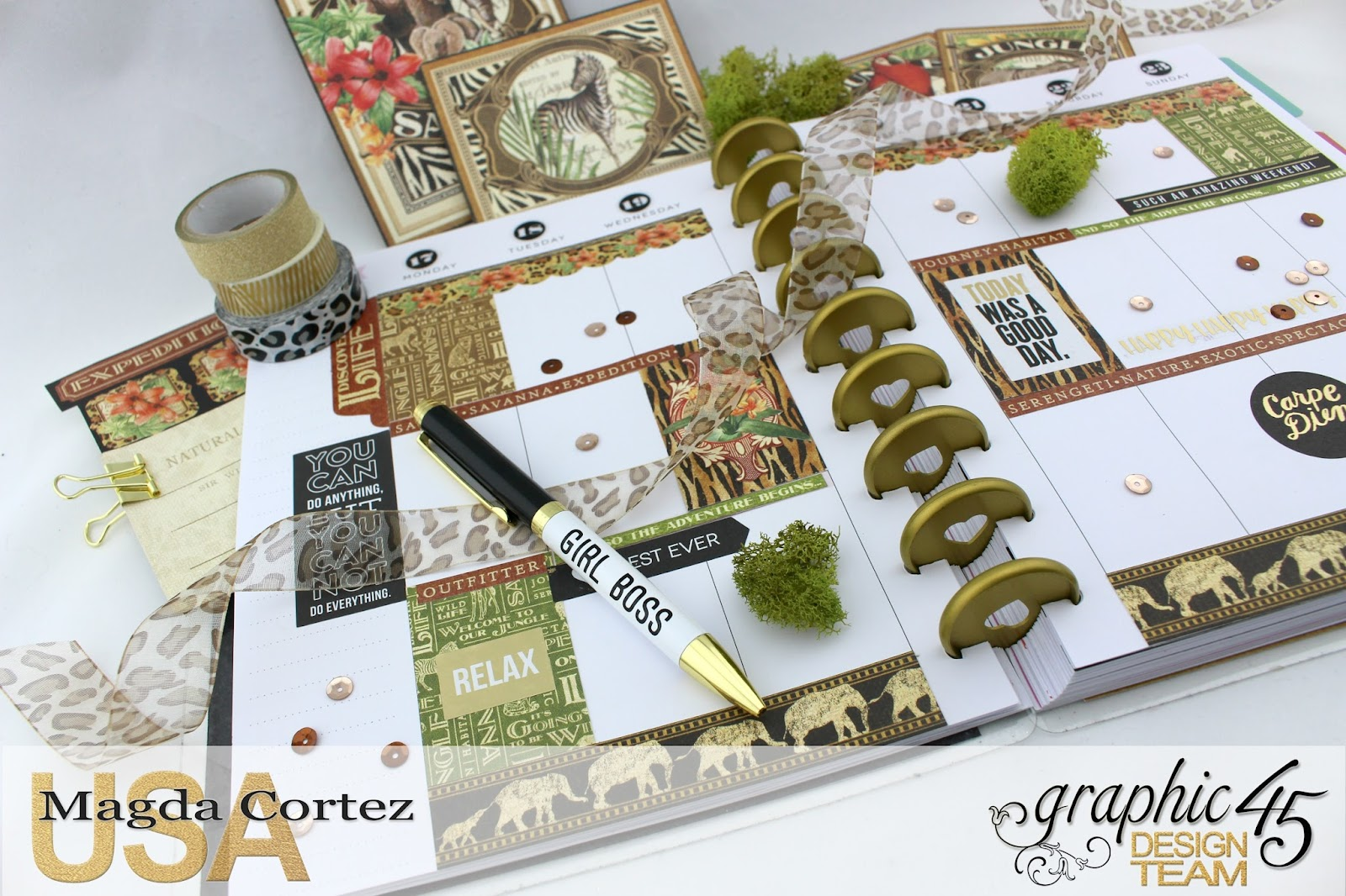 My JULY G45 Planner,Safari Adventure By Magda Cortez, Product by G45, Photo 16 of 20.jpg