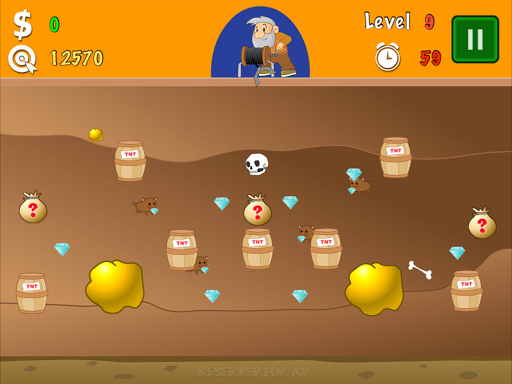 Gold Miner Classic Lite screenshot 9
