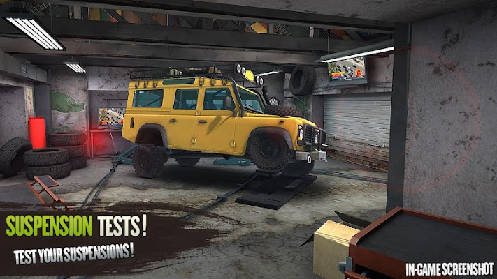 Revolution Offroad : Spin Simulation- screenshot