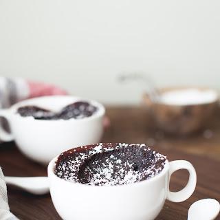 Chocolate Mochi Mug Cake.
