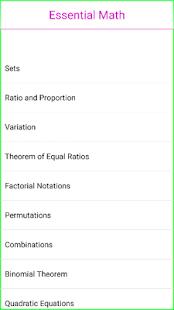 Essential Maths - náhled
