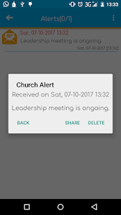 HOG Athi-River Church App - náhled