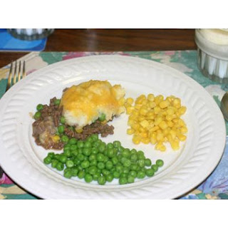 Hamburger, Sausage and Corn Casserole Recipe