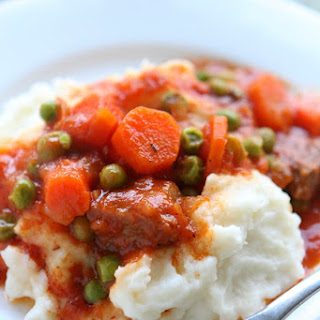 Swiss Steak and Mashed Potatoes