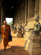 Photo: Monk (Haw Pha Keo, Vientiane)