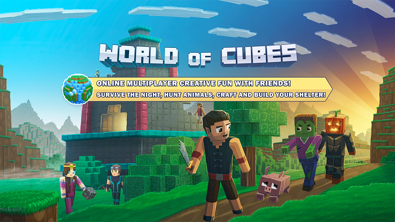 World of Cubes Survival Craft- screenshot