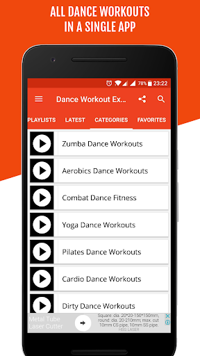 Dance Workout For Weight Loss - Lose Belly Fat 9.7 screenshots 2