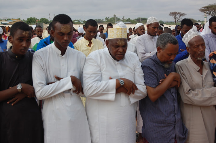 Muslims in Garissa pray for rain