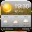 Sunrise&Sunset weather app ⛈❄️ Icône