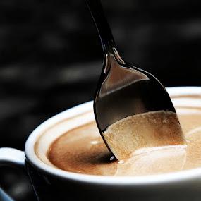 Would you like a cup of coffee? by Ekaterina Kaznacheeva - Food & Drink Ingredients ( coffee )