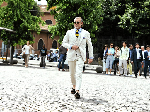 Alessandro Squarzi is one of Italy's most stylish men.