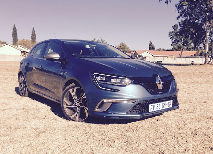 The Megane GT is a well-designed product offering something different to the German rivals. Picture: LERATO MATEBESE