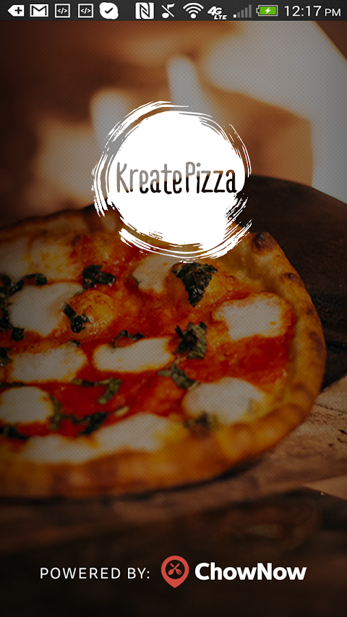 Kreate Pizza- screenshot