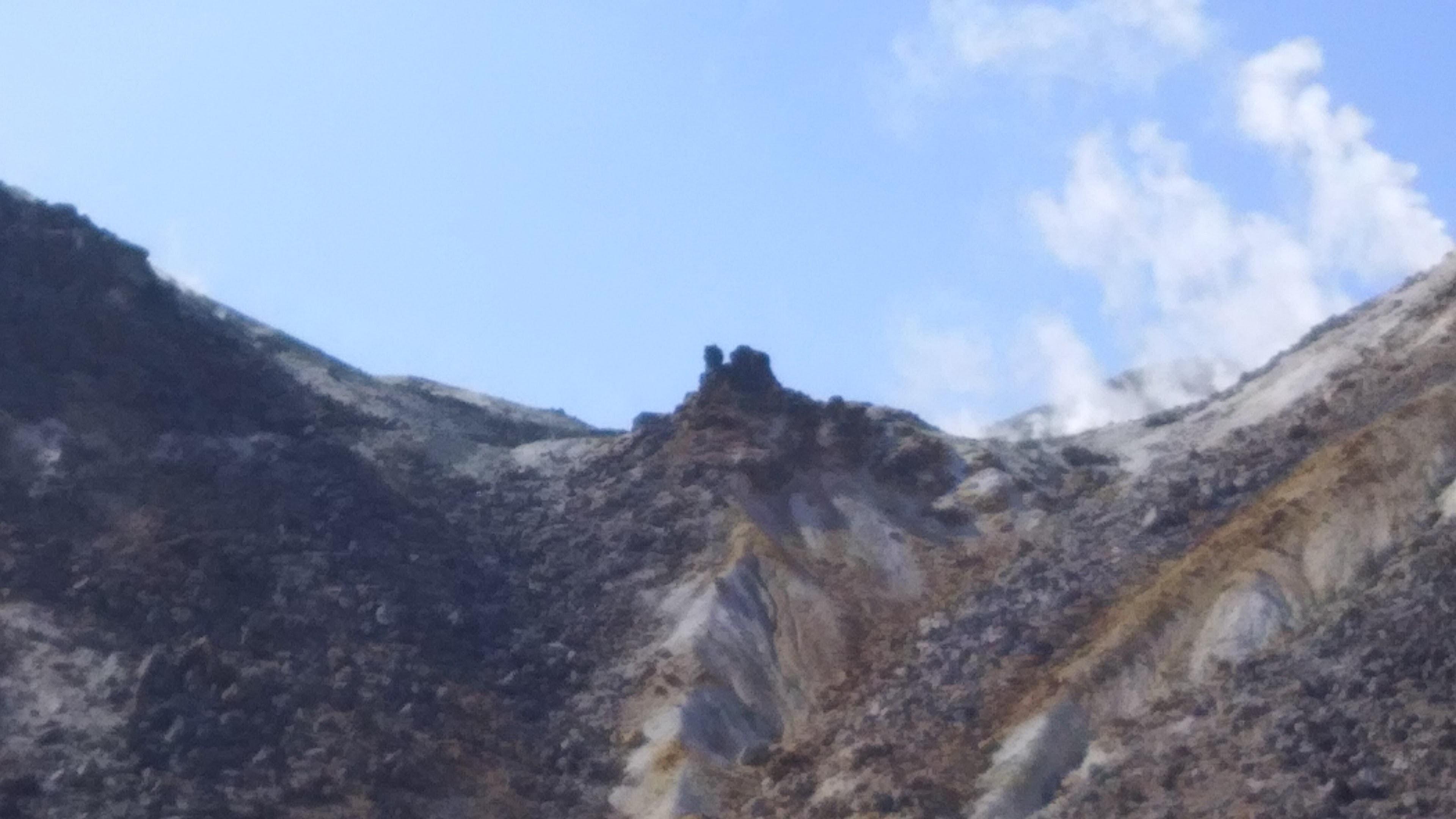 硫黄山見上②
