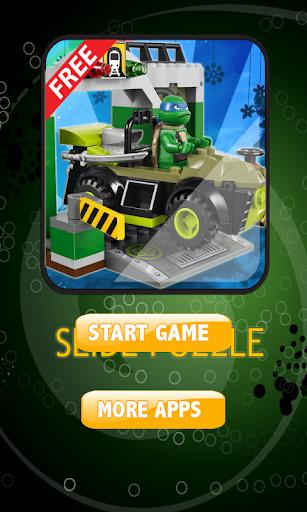 Slide Puzzle Ninja Turtle Lego