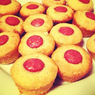 Mini Corn Dog Muffins.