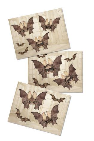 Mrs Mighetto Paper friends The Bats