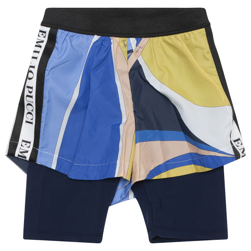 Primary image of Emilio Pucci Patterned Shorts