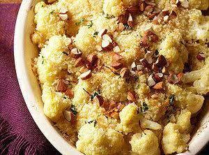 Cauliflower Gratin Deluxe Recipe