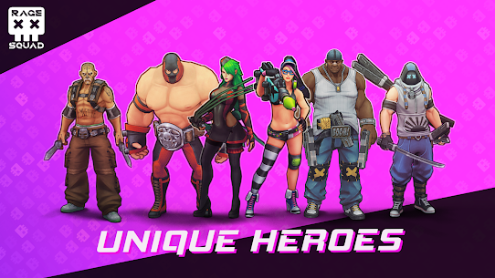 Rage Squad: Online PvP Brawl Game Apk Download For Android 2