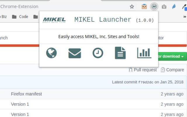 MIKEL, Inc. Launcher