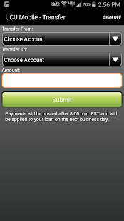 UCU Mobile Finance Manager- screenshot thumbnail