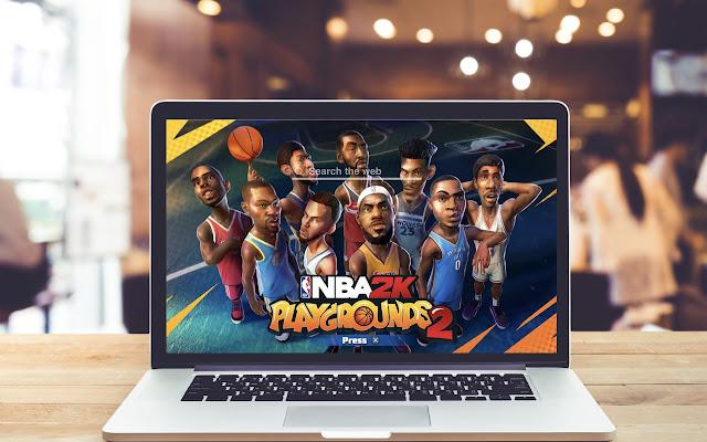 Game Theme: NBA 2K PLAYGROUNDS