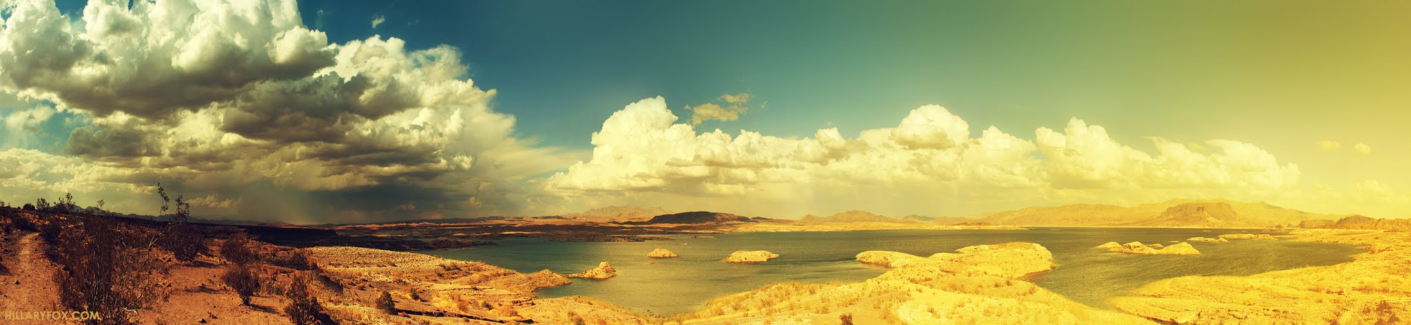 Photo: Lake Mead in 66 Megapixels - Photo by Hillary Fox
