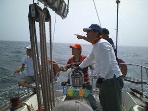 Photo: ポパイは石廊崎の入江を目指します