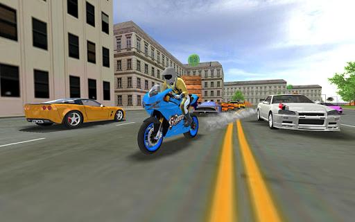 Sports bike simulator Drift 3D apkpoly screenshots 2