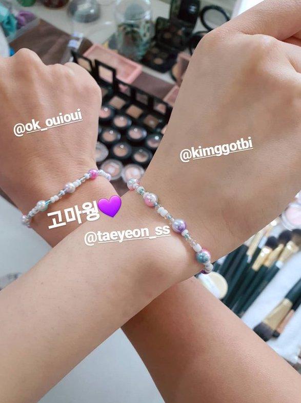 taeyeon bracelet fan 5