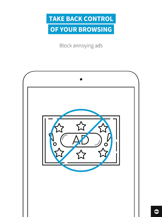 Adblock Browser for Android – snímek obrazovky