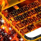 Flame Theme For Redraw Keyboard