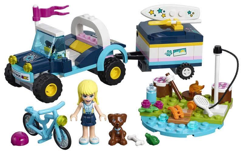 Contenido de Lego® 41364 Buggy y Remolque de Stephanie
