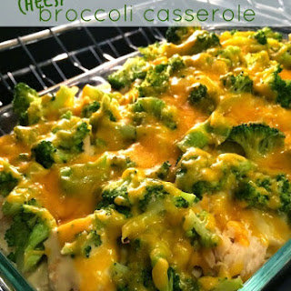 Broccoli Casserole with Chicken… 30 Minutes or Less