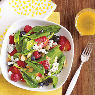 Berry Salad with Lime-Basil Vinaigrette