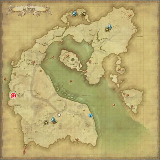 トレジャーハントMAP G12地図座標