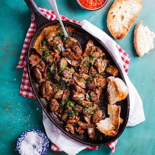 Chicken Livers Vegetables Recipes