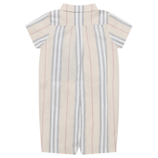 Thumbnail images of Burberry Faded Babygrow