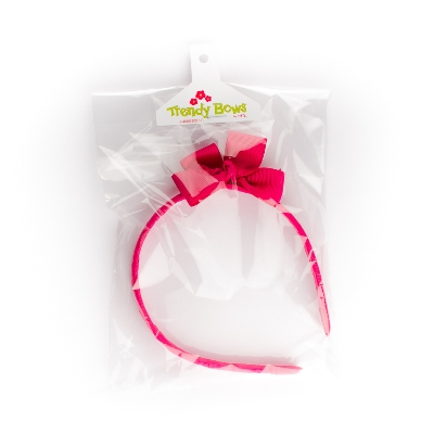 accesorio cintillo lazo unicolor 1 cintillo Trendy bows