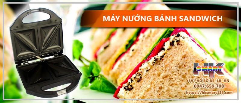 Máy nướng bánh Sandwich Nikai