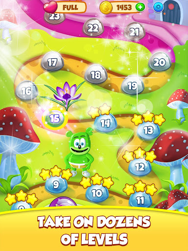 Gummy Bear Bubble Pop - Kids Game apktram screenshots 9