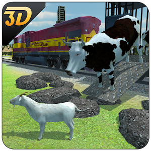Farm Animal Transport Train for PC and MAC
