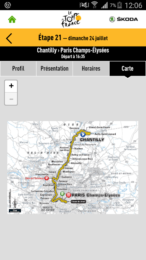 TOUR DE FRANCE 2016 by ŠKODA – Capture d'écran