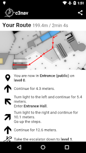 c3nav – 33c3 indoor navigation- screenshot thumbnail