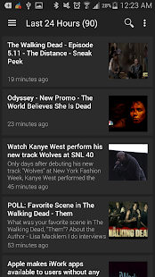 RssDemon News & Podcast Reader - screenshot thumbnail