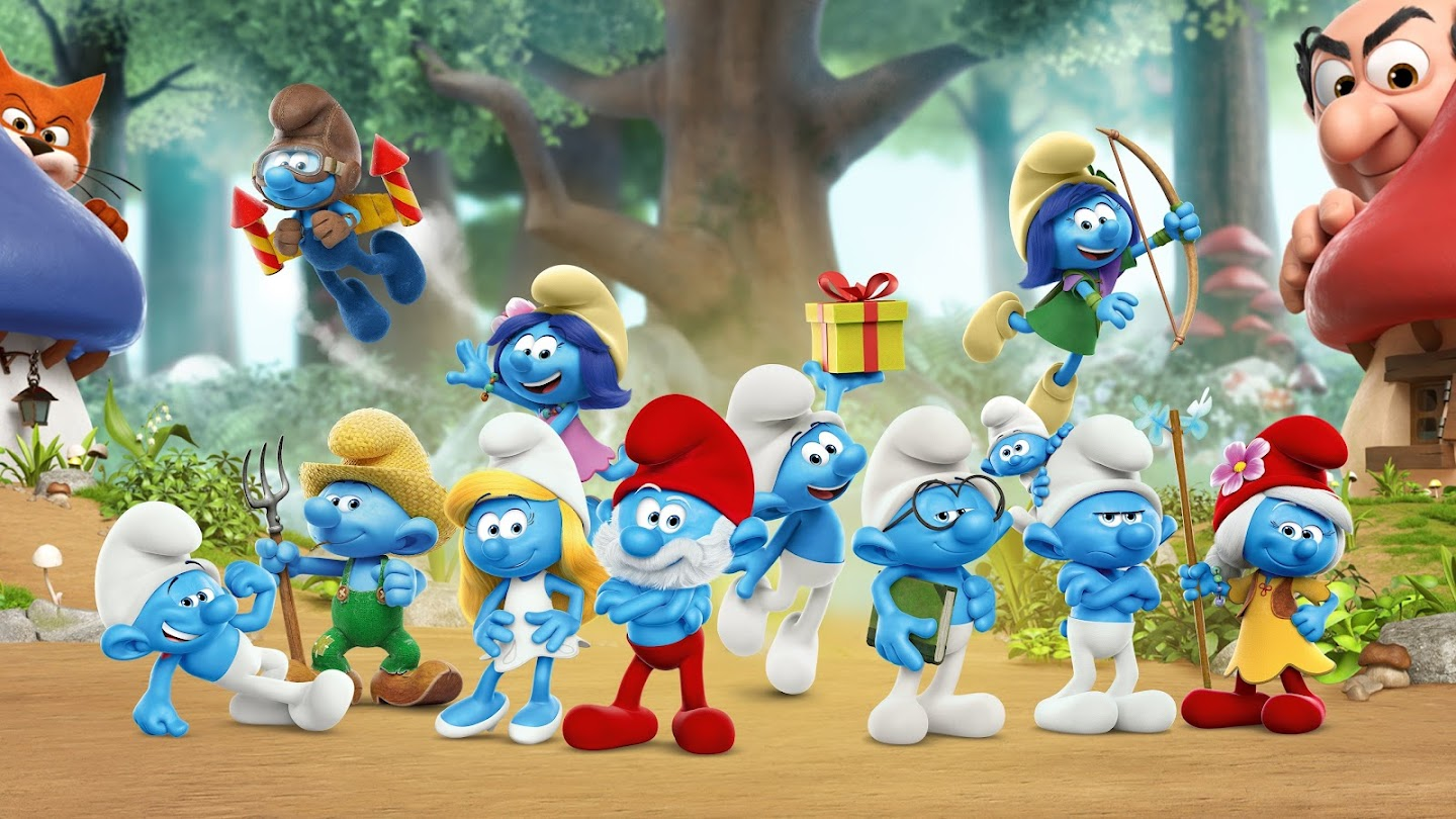Watch The Smurfs live